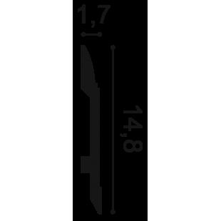 Listwa przypodłogowa flex ORAC DECOR SX104F