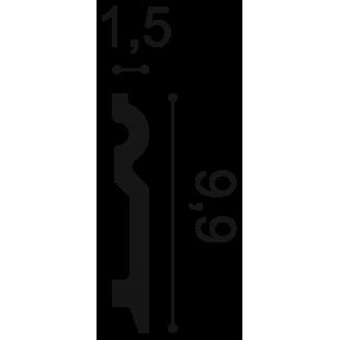 Listwa przypodłogowa ORAC DECOR SX137
