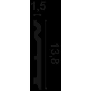 Listwa przypodłogowa flex ORAC DECOR SX138F