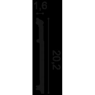 Listwa przypodłogowa ORAC DECOR SX156