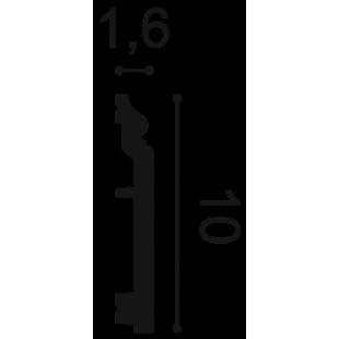 Listwa przypodłogowa flex ORAC DECOR SX173F