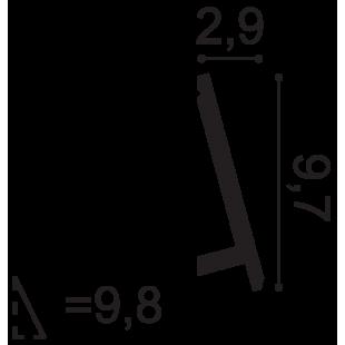 Listwa przypodłogowa/ oświetleniowa ORAC DECOR SX179