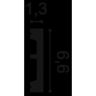 Profil wielofunkcyjny flex ORAC DECOR SX157F