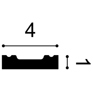 Profil wielofunkcyjny flex ORAC DECOR SX162F