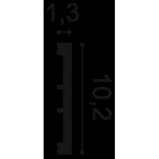 Profil wielofunkcyjny flex ORAC DECOR SX163F