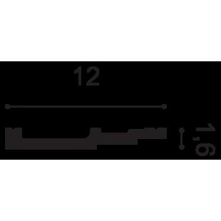 Gzyms/ listwa przypodłogowa ORAC DECOR SX180