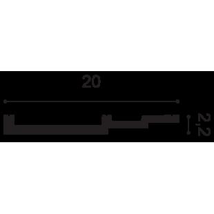 Gzyms/ listwa przypodłogowa ORAC DECOR SX181
