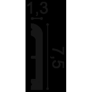 Profil wielofunkcyjny flex ORAC DECOR SX183F