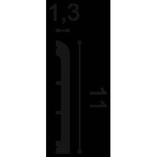 Profil wielofunkcyjny flex ORAC DECOR SX184F
