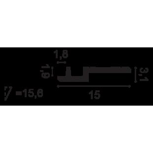 Gzyms - listwa oświetleniowa ORAC DECOR C395