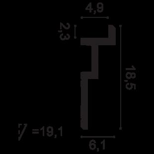 Gzyms - osłona karnisza ORAC DECOR C396