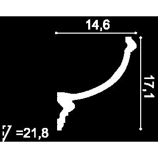 Gzyms - listwa oświetleniowa ORAC DECOR C900