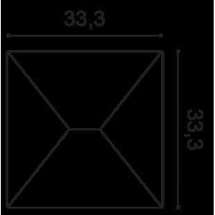 Panel ścienny 3D ORAC DECOR W106