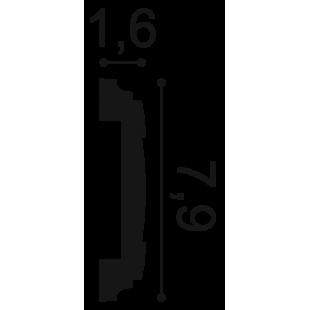 Profil ścienny ORAC DECOR PX102