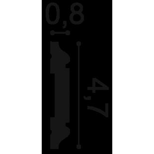 Profil ścienny flex ORAC DECOR PX144F