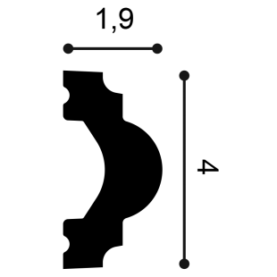 Profil ścienny ORAC DECOR PX120