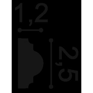 Profil ścienny ORAC DECOR PX103