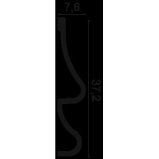 Profil ścienny ORAC DECOR P3071 Golf