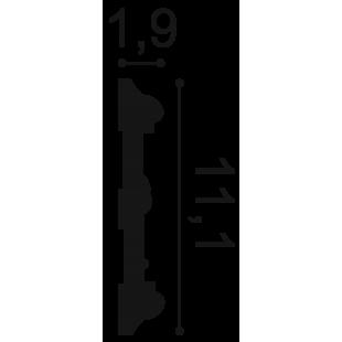 Profil ścienny ORAC DECOR P7020