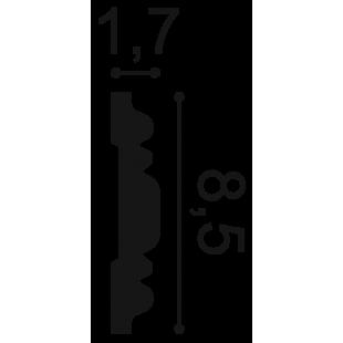 Profil ścienny ORAC DECOR P7030