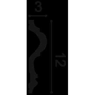 Profil ścienny ORAC DECOR P8050