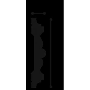 Profil ścienny ORAC DECOR P9020