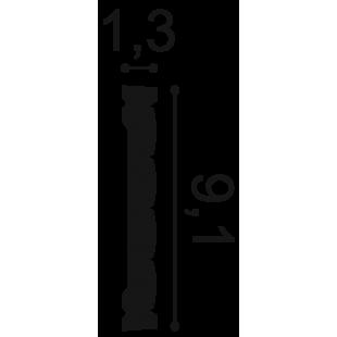 Profil ścienny ORAC DECOR P5020