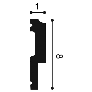 Profil ścienny ORAC DECOR P9900