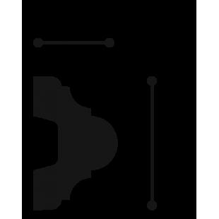 Profil ścienny ORAC DECOR P4020