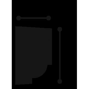 Profil ścienny ORAC DECOR P9050