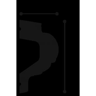Profil ścienny flex ORAC DECOR P3020F