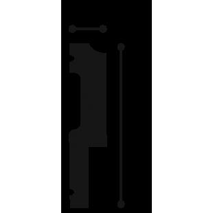 Profil ścienny flex ORAC DECOR P9900F