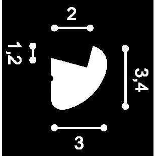 Listwa oświetleniowa ORAC DECOR CX188