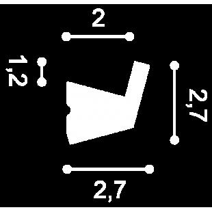 Listwa oświetleniowa flex ORAC DECOR CX189F