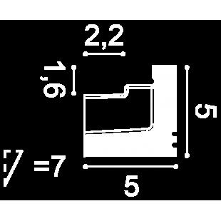 Gzyms oświetleniowy ORAC DECOR C361