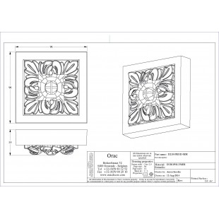 Element dekoracyjny ORAC DECOR D210